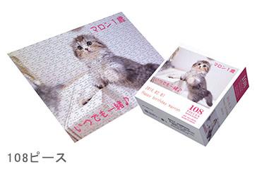 108ピース箱付きジグソーパズル